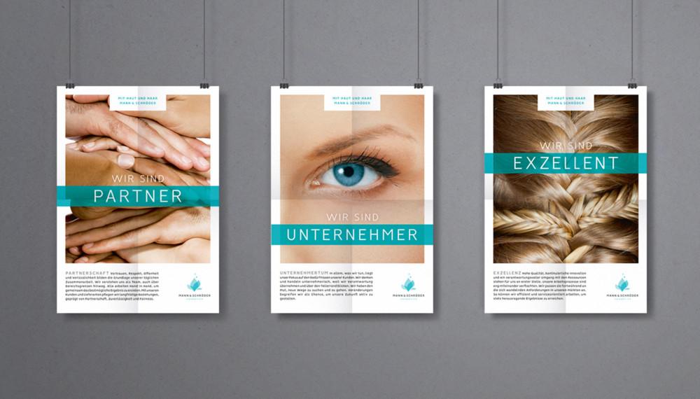 <h6>Internes Employer Branding</h6>MANN & SCHRÖDER COSMETICS